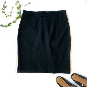 New with tags LOFT black skirt